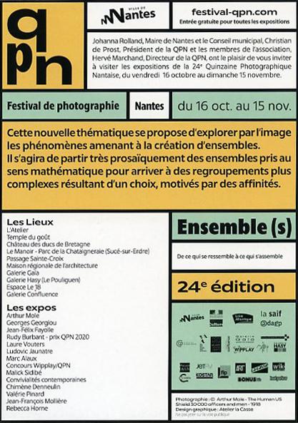 invitation àla quinzaine Photographique Nantaise